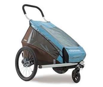 Picture of CROOZER RAIN COVER KID PLUS FOR 2 (DOUBLE SEATER) FROM MODEL 2014