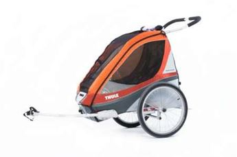 Picture of THULE CHARIOT CORSAIRE 1 ORANGE
