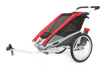 Picture of THULE CHARIOT COUGAR 1 RED