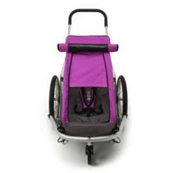 Afbeelding van CROOZER KID PLUS FOR 1 ZONNESCHERM PINK TOT MODEL 2014