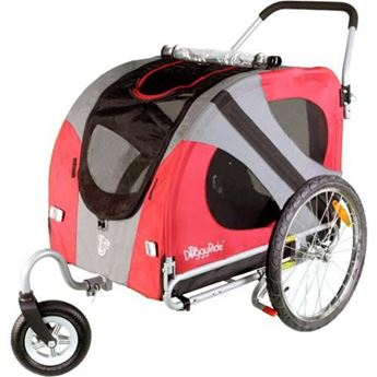 Bild von DOGGYRIDE ORIGINAL BUGGY (SWIVEL WHEEL) ROOD