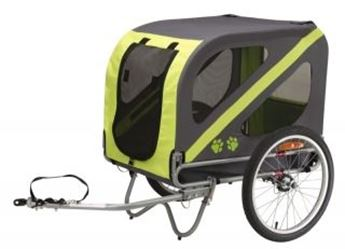 Picture of DOGGY TRAILER HONDENFIETSKAR GROEN-ZWART